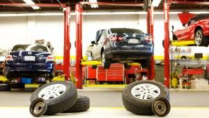 automobilių remonto dirbtuvės