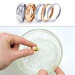 Kaip prižiūrėti vestuvinius žiedus?